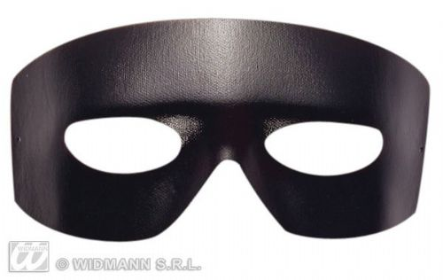 Eyemask Leatherlook Caballero Eye-Mask Masquerade Ball Mask Fancy Dress